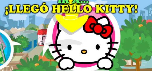Hello Kitty mapa